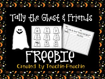 FREEBIE-Tally the Ghost and Friends!