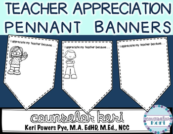FREEBIE: Teacher Appreciation Pennant Banner