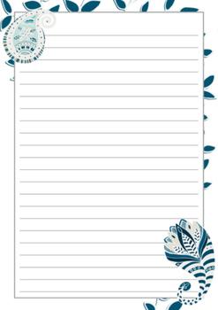 FREEBIE: Teacher Appreciation : Writing Papers - Amoeba Dream