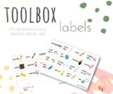 FREEBIE: Teacher Toolbox Labels (Fits Bunnings Organiser) #ausbts19