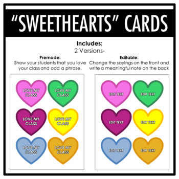 FREEBIE! Teacher Valentines Giving Party Pack
