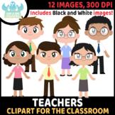 FREEBIE - Teachers Clipart (Lime and Kiwi Designs)