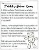 FREEBIE Teddy Bear Day Reading Activity + Brag Tag