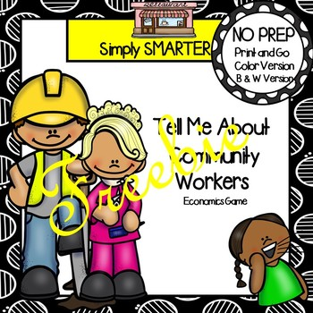 FREEBIE:  Tell Me About Community Workers