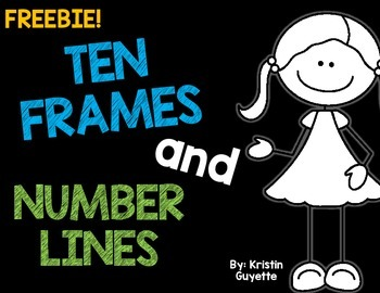 FREEBIE: Ten Frames and Number Lines