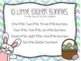 FREEBIE Ten Little Easter Bunnies