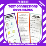 FREEBIE: Text Connections Bookmark