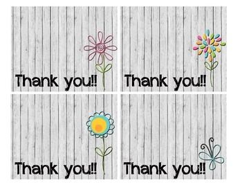 *FREEBIE* Thank You Notecards for any Occasion