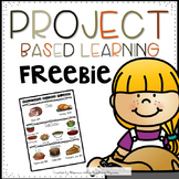 FREEBIE Thanksgiving Shopping Project Based Learning Activity