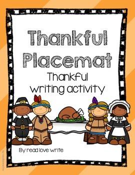 FREEBIE: Thanksgiving Thankful Placement