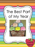 FREEBIE: The Best Part of My Year {Ice Cream Sundae Open House Project}