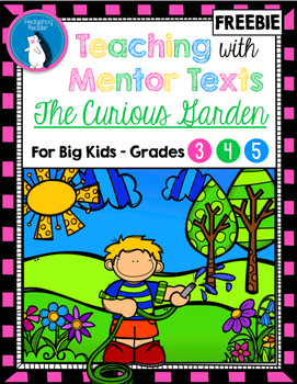 The Curious Garden Mentor Text - Visualization, Vocabulary
