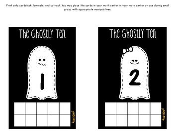 Freebie!!! The Ghostly Ten