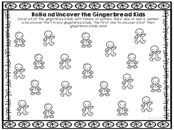 FREEBIE: The Gingerbread Man Add-on Activities