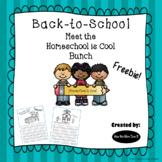 FREEBIE - The Homeschool Is Cool Bunch Journal: Back-to-School