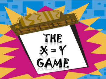 FREEBIE: The X=Y Game - a fun game to develop ingenuity and creativity