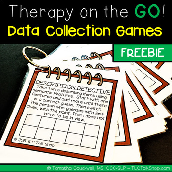 FREEBIE: Therapy on the GO!