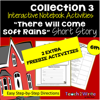 """FREEBIE """"There Will Come Soft Rains"""" ELA HMH Collection 3"""