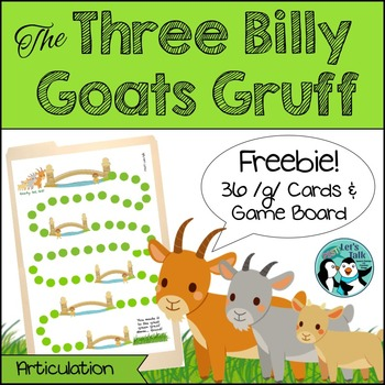 {FREEBIE} Three Billy Goats Gruff Game Board