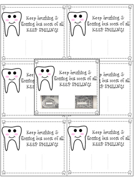 FREEBIE Tooth Fairy Note