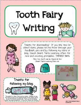 **FREEBIE** Tooth Fairy Writing