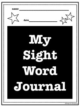 Top 100 Words on the Fry Sight Word List: Journal and Word Wall Cards FREEBIE