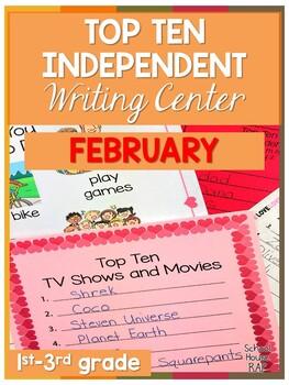 FREEBIE Top Ten Writing