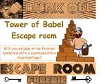 Break Out: Tower of Babel Escape Room freebie