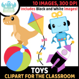 FREEBIE - Toys Clipart (Lime and Kiwi Designs)