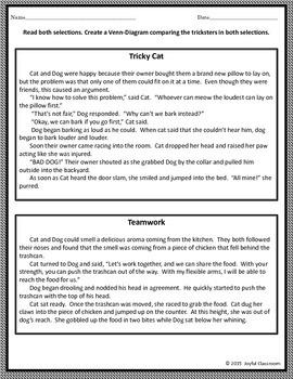 Trickster Task Cards