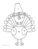 FREEBIE! Turkey Color-by-Teen Number