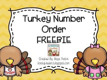 FREEBIE Turkey Number Order