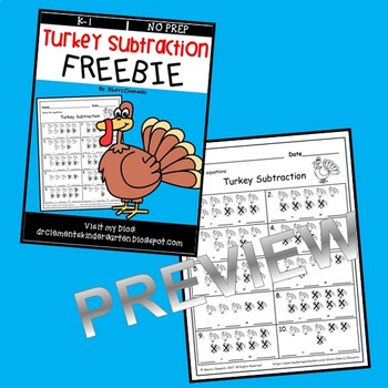 FREE DOWNLOAD : Turkey Subtraction