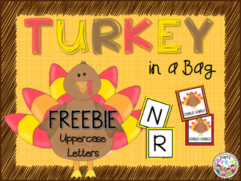 FREEBIE Turkey in a Bag Card Game