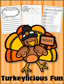 FREEBIE: Turkey-licious Math, Writing, and More