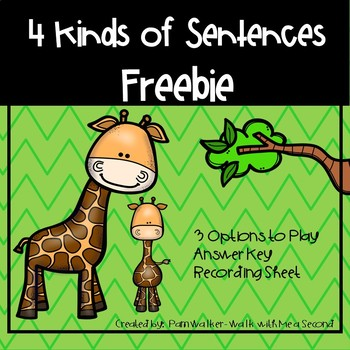 FREEBIE Types of Sentences