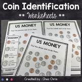 FREEBIE - US Money - Coin Identification : penny - nickel