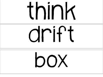 FREEBIE - Unit 1 - CKLA - 2nd Grade - Spelling Cards & Word Work