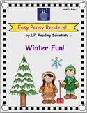 Easy Peasy Readers: Winter Fun (Bossy R)