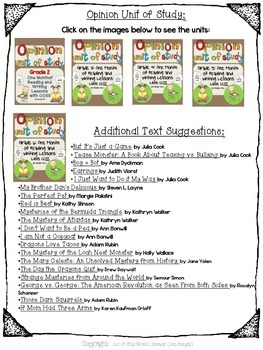 {FREEBIE} Units of Study: 136 Additional Text Suggestions!