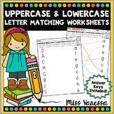 Upper Case Lower Case Letters Matching
