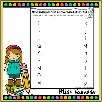 Uppercase Lowercase Letter Match