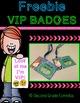 FREEBIE VIP BADGES