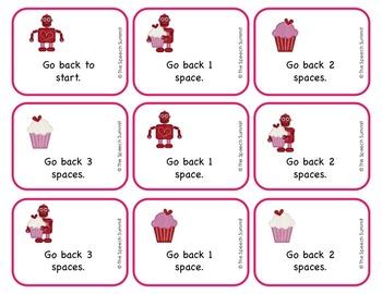 FREEBIE: Valentine Game Board