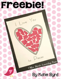 FREEBIE! - Valentine I love you to Pieces