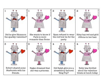 {FREEBIE} Valentine Robots - Prevocalic /r/ and /r/ Blends for Speech Therapy