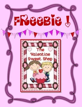 FREEBIE! ~ Valentine Sweet Shop