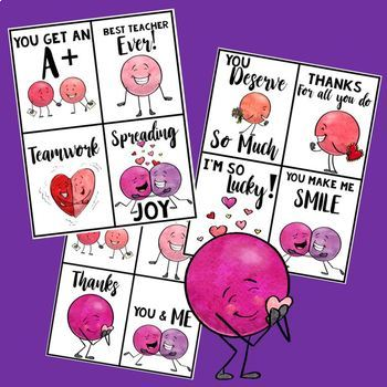 FREEBIE  ♥ Valentine's Cards for Your Co-Workers and Teacher Friends