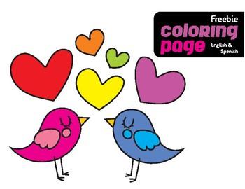 FREEBIE Valentine´s Coloring Page