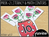 FREEBIE Valentine's Day PreK, K, 1st and 2nd Grade ELA & M